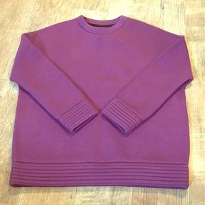 SATURDAY BY KATE SPADE CREW NECK SWEATER