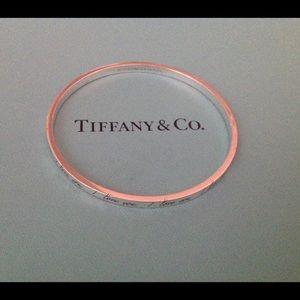 Tiffany & Co. Jewelry - Tiffany & Co. Notes Bangle