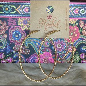 Rachel Jewelry - Trendy Cool Boho Perfect Large Hoop Earrings
