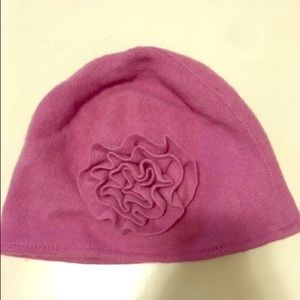 Charlotte Russe Other - Charlotte Russe Girls Purple Flower Hat - NWT