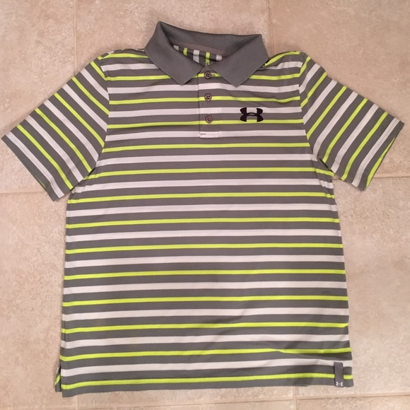 under armour shirts for boys. under armour boys size large golf shirt shirts for