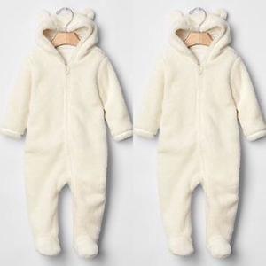 Baby Gap Sherpa bear suit sz 3-6 months