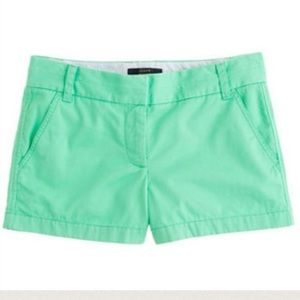 J. Crew Pants - J CREW CHINO SHORTS! Size 0!