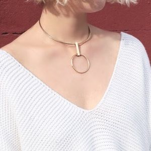 17Basics Geometric necklace