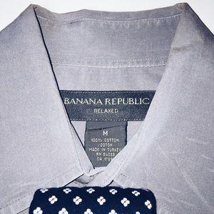 Banana Republic Shirts - Banana Republic Relaxed Fit Dress Shirt