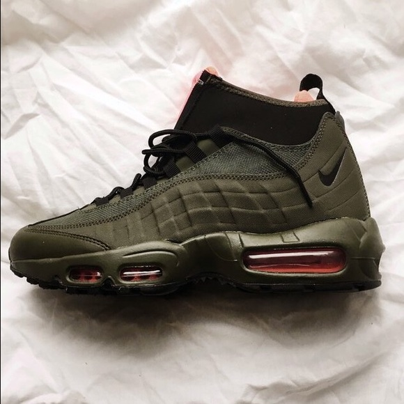 ffcd0613e6 purchase air max 95 sneakerboot olive mill 372d6 05894
