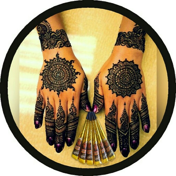 9abe5e1cbcce Kaveri and golecha Makeup | 6 Count Henna Paste Temp Body Art Tatoo ...