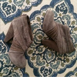 Dolce Vita gray booties.