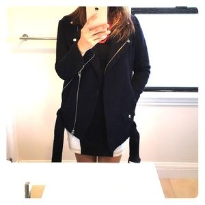 Deep navy blue coat from Kooples!