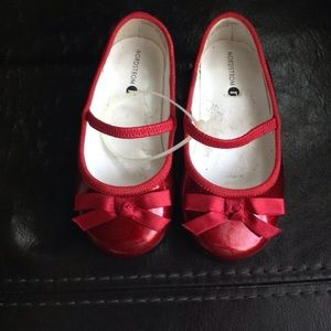 Nordstrom Baby Other - A pair of toddler red shoes