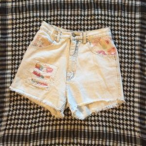 Traffic Pants - High Waisted Distressed Traffic Shorts