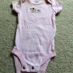 Carters Dresses - NB onesie