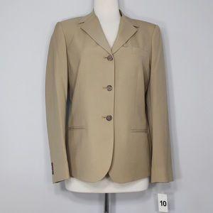 Jackets & Blazers - Women's Beige Blazer