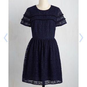 ModCloth Dresses & Skirts - New Modcloth By Lace & Mesh Lace Dress Size XS