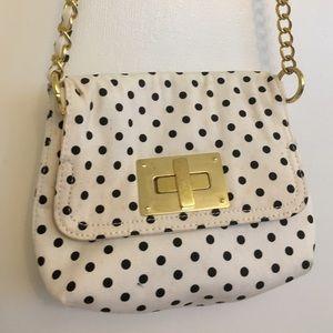 Classic polka dot purse