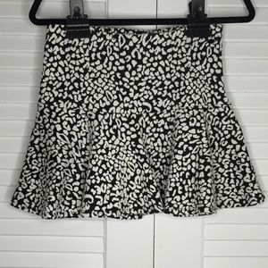Guess Dresses & Skirts - Guess Animal Print Ruffle A-Line Skirt