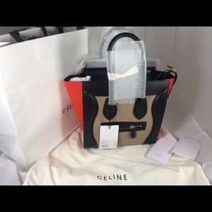 Celine Handbags - Celine Micro Trio Brand New