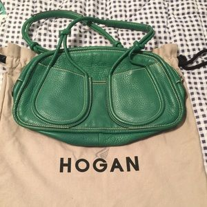 Hogan Handbags - Hogan handbag green