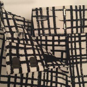 222fa6ca9f133 Ava   Viv Pants - 🌬Plus Size Ava   Viv Black   White Grid Pant