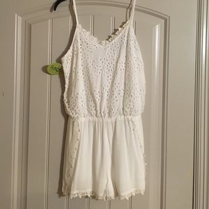 INA Pants - White romper