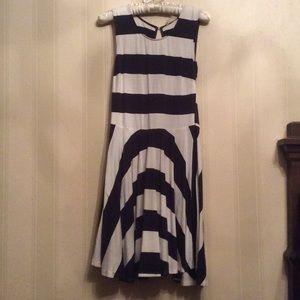 Altar'd state Blue and white dress sz medium