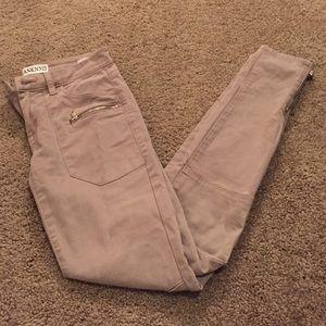 Blank NYC Denim - NWT blank skinny moto pants with zippers