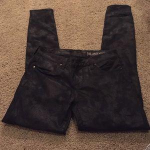 Blank NYC Denim - BLANKNYC black coated jeans
