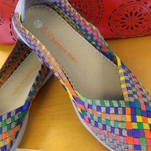 bernie mev. Shoes - Bernie Mev Shoes  Catwalk Bronze Multi