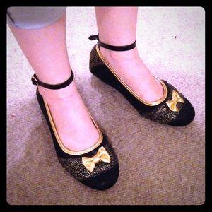 Disney Princess Anna Shoes *ALTERED* Black, Girl's