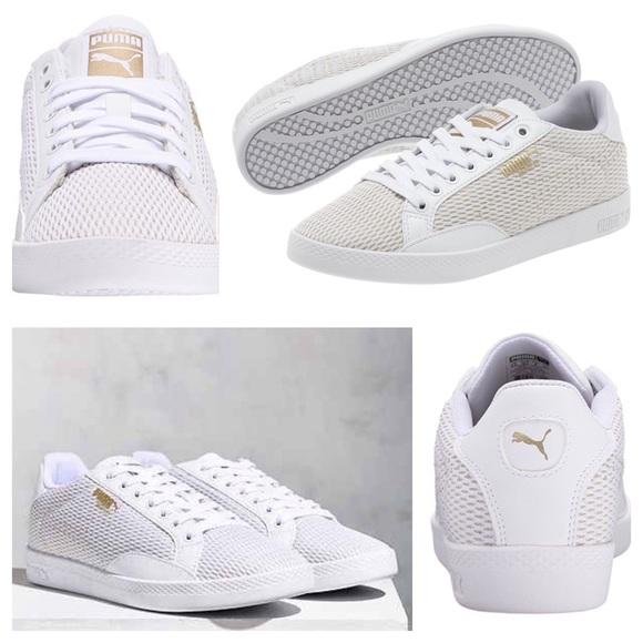 3c3a008b77c6 Puma Match Lo Metallic Mesh Women s Sneaker