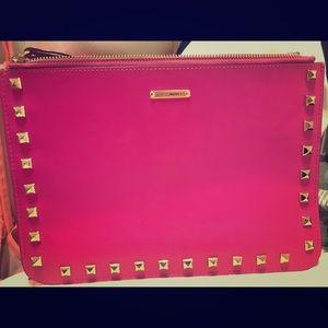 Rebecca Minkoff Handbags - Rebecca Minkoff Studded Two-Tone Clutch
