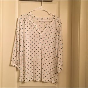 Old navy 3/4th sleeve cotton top