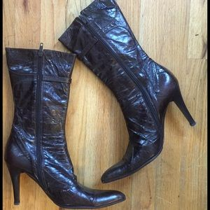 Shoes - Distressed Arena Di Moro Leather Boots