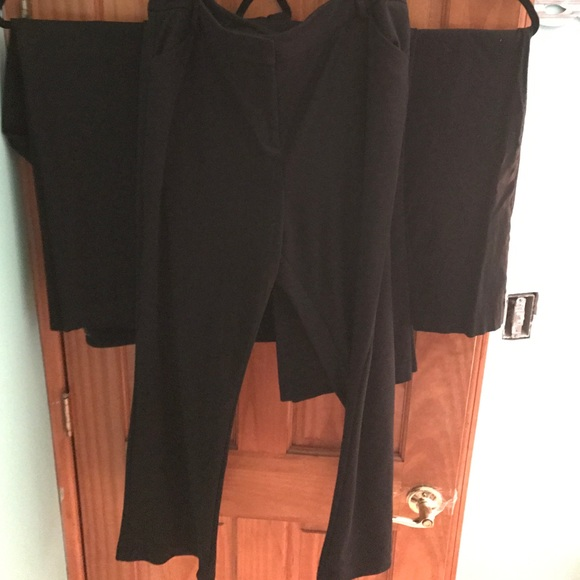 a29036cd4b53c Ann Taylor Pants - Five pairs of black pants all size 18