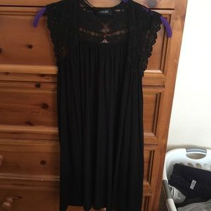 Yours Clothing Tops - Black sleeveless cardigan