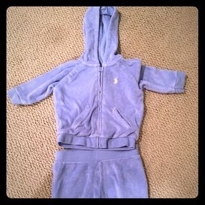 Ralph Lauren Other - Ralph Lauren 6 month French Terry hoodie set