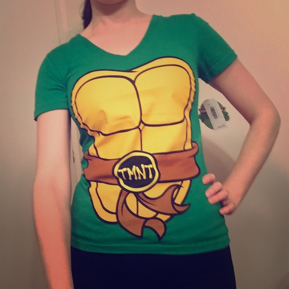 a1e301074 Nickelodeon Tops | Donating Soon Nwt Womens Ninja Turtle Tee | Poshmark