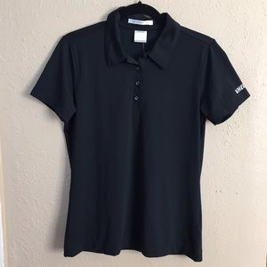 Nike Tops - New Nike Golf Ladies Black DriFit Diamond Polo Top