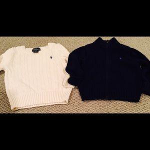 Ralph Lauren Other - 2 Ralph Lauren sweater- cream NWOT