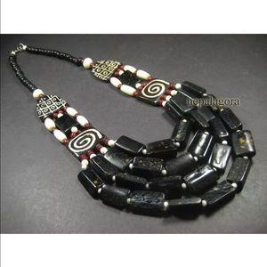 Jewelry - Bovine necklace tribal Naga necklace