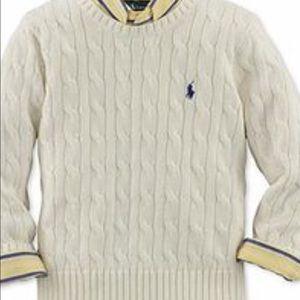 Ralph Lauren Other - Ralph Lauren NWOT.  2T boys cable knit sweater