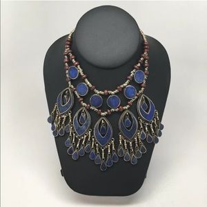 Jewelry - Lapis lazuli multilayered necklace