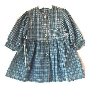 Kanz Other - Cotton Plaid Dress