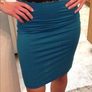 Dresses & Skirts - Nation brand mini skirt in ocean blue. Size 3/sm