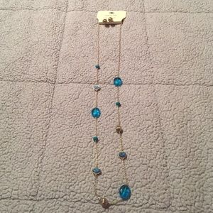 Simple Blue Necklace