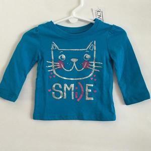 NWT!!  Children's place kitty shirt