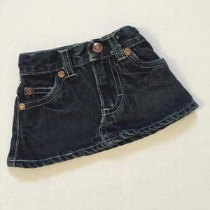 Appaman Other - Appaman denim skirt with monkey face stitched on back pocket