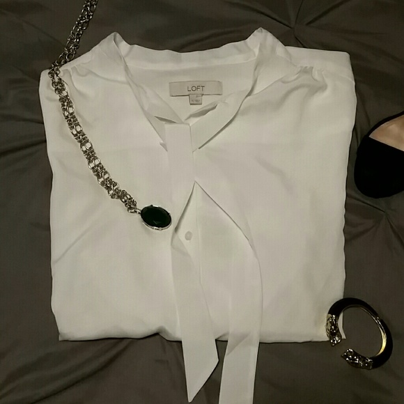 White Blouse Loft 41
