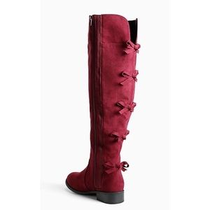 torrid over the knee boots (wide calf, wide width)