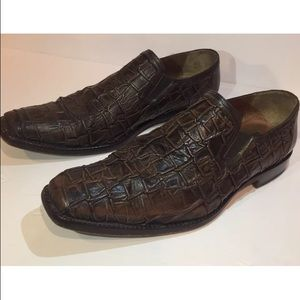 Mezlan Shoes - MENS FAUX CROCODILE LOAFERS mezlan